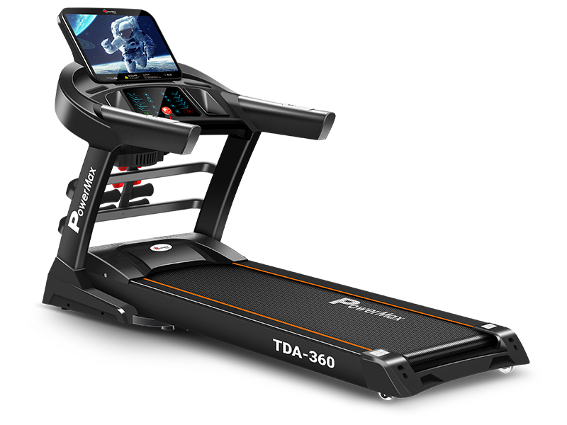 <b>TDA-360</b><sup>®</sup> 15.6inch HD Display Motorized Treadmill with Auto Incline