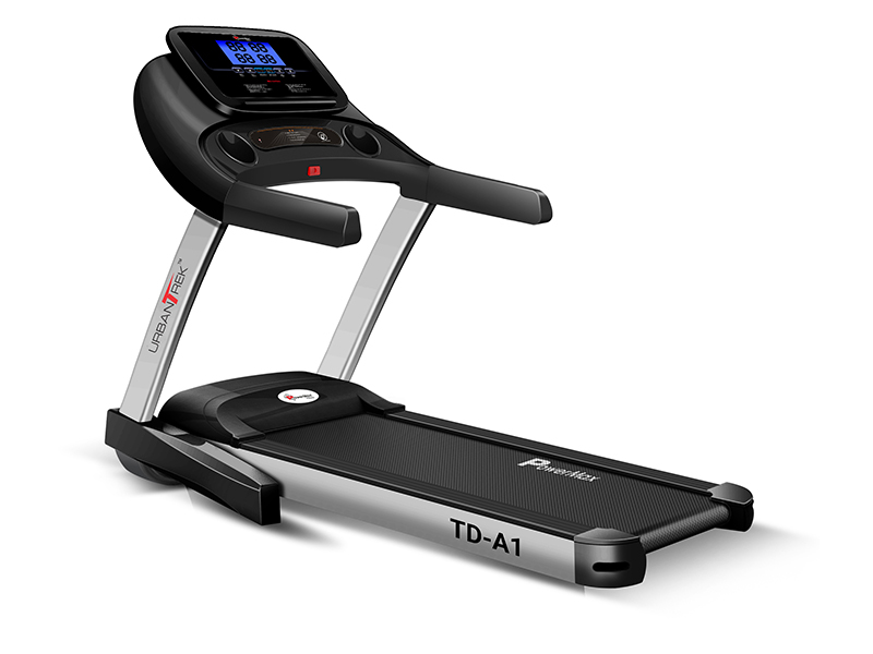 <b>TD-A1</b> Motorized Treadmill with Android & iOS Application