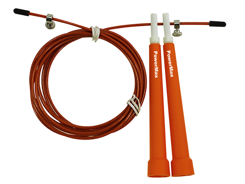 <b>JP-2 (Orange)</b>  Exercise Speed Jump Rope With Adjustable Cable