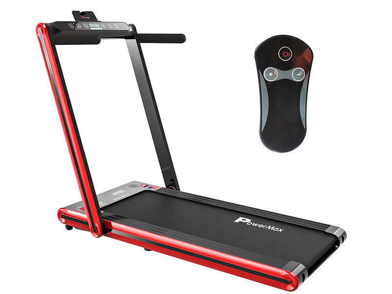 <b>JogPad-2<sup>®</sup></b> Touch Screen Dual Display Treadmill with Bluetooth Speaker