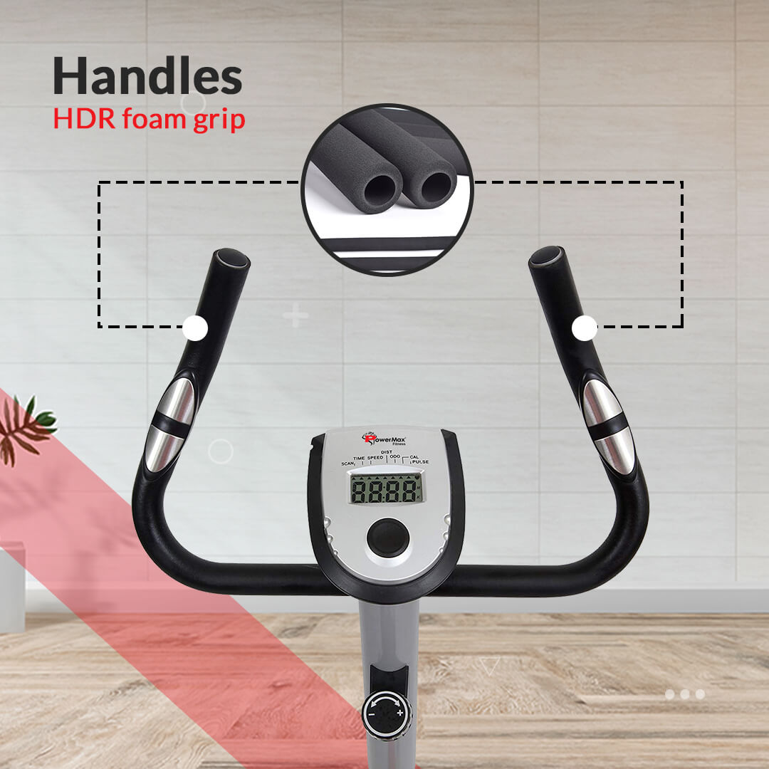BU-200 Magnetic Upright Bike for Home Use