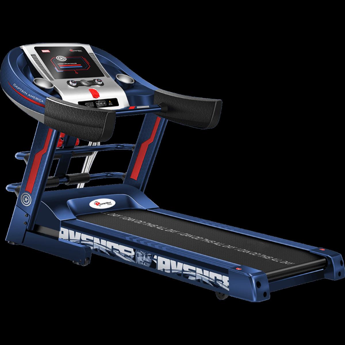 MTM-1000M Semi-Auto Lubrication Multifunction Treadmill