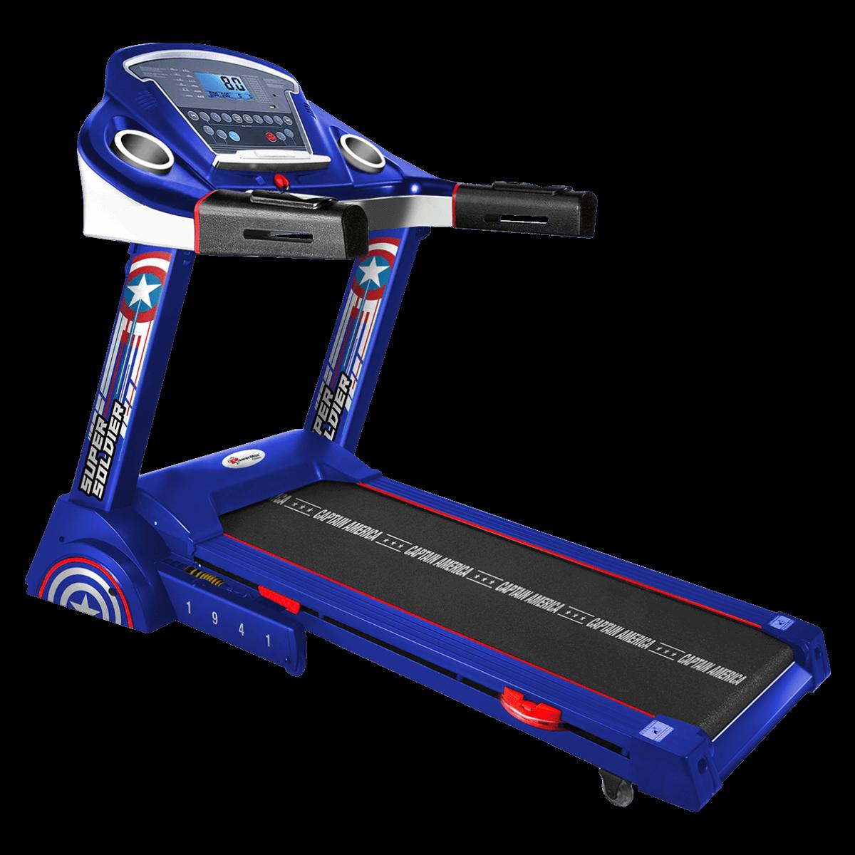 MTA-2300 Motorized Treadmill with Semi-Auto Lubrication
