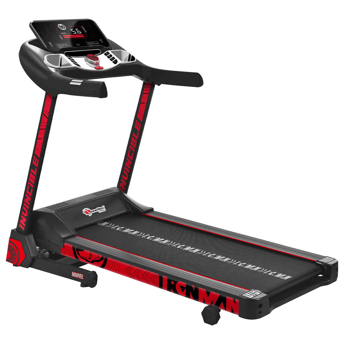MTA-2500 Motorized Treadmill with Automatic Lubrication and Jumping Wheels