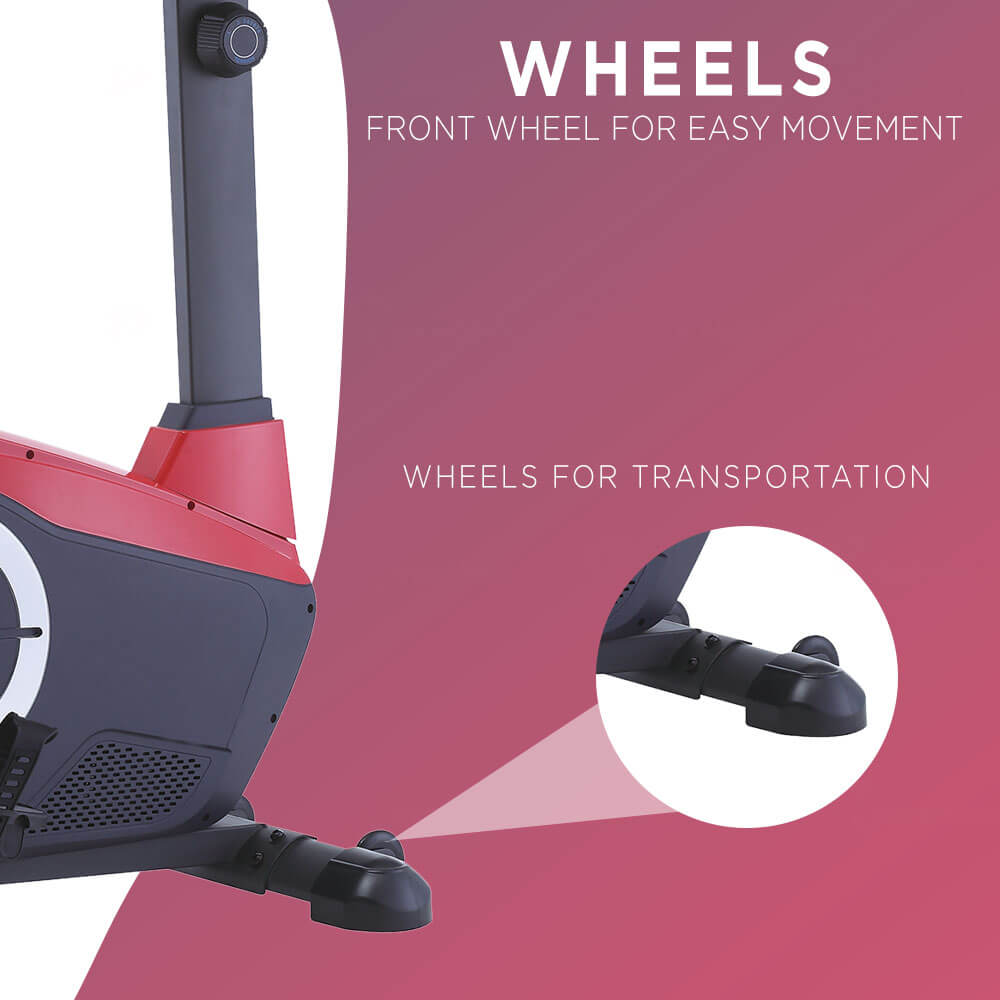 magnetic recumbent exercise bike for home use