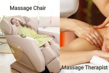 Massage Chair VS Massage Therapist : Who is the winner here ?