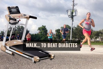 WALK… TO BEAT DIABETES