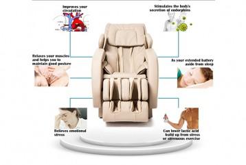 Benefits of massage chair for menopausal women