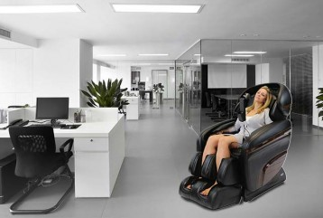 The Executive Massage Chair - Ultimate Comfort in the Office