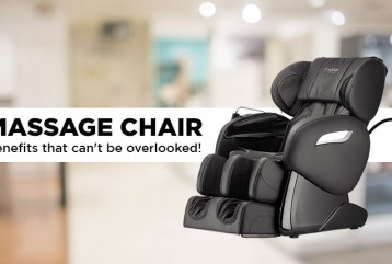 MASSAGE CHAIR - Benefits that can't be overlooked!