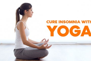 Cure Insomnia With  Yoga
