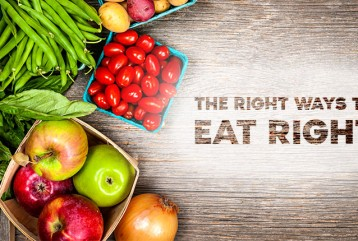 THE RIGHT WAYS TO EAT RIGHT