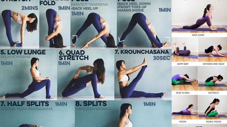 How can I increase my flexibility ?