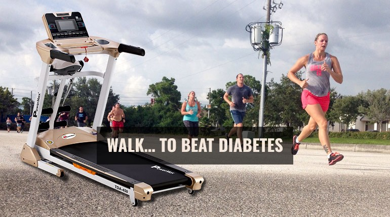 WALK… TO BEAT DIABETES