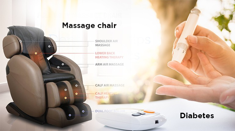 A massage chair is all you need if you are diabetic