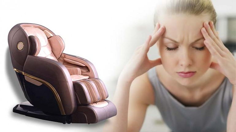 While a Migraine Can Cause a Neurological Damage, a Flexibility Massage Chair Can Prevent it from Happening