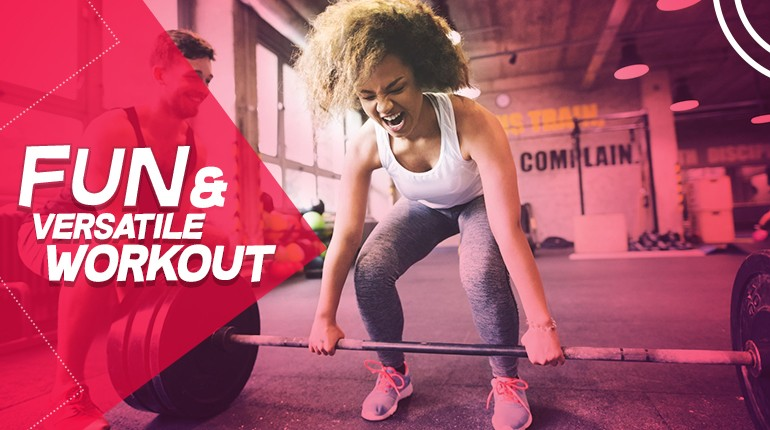 How to make your workouts fun and versatile