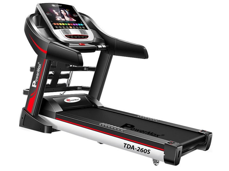 "<b>TDA-260S<sup>®</sup></b> Multi-function Treadmill with 10.1"" Full HD Digital TFT Touch Screen"