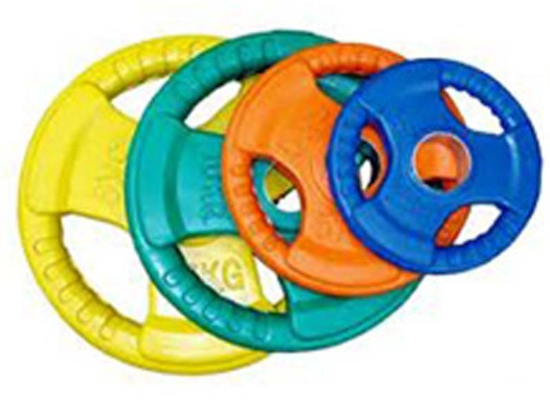 Rubber Coated Olympic (50mm) Plates – Coloured