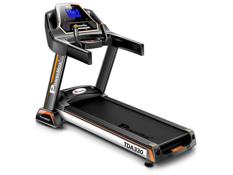 <b>TDA-330<sup>®</sup></b> Motorized Treadmill with Auto Incline