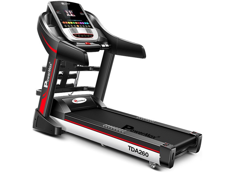 "<b>TDA-260<sup>®</sup></b> Multifunction Treadmill with 7"" TFT Color Touch Screen"