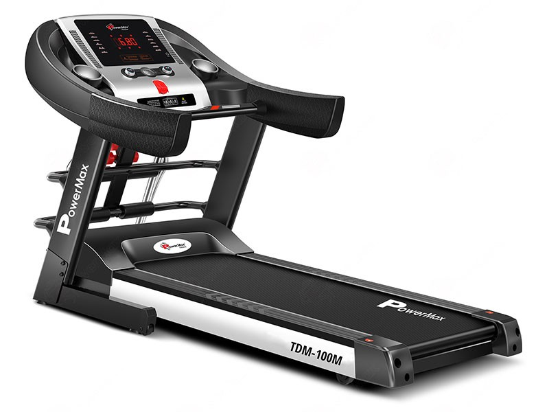 <b>TDM-100M<sup>®</sup></b>  Semi-Auto Lubrication Multifunction Treadmill