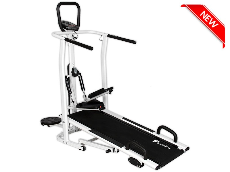 <b>MFT-410<sup>®</sup></b> 4 in 1 Multi-function Manual Treadmill