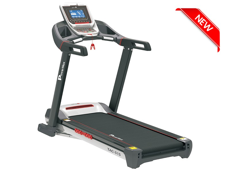 <b>TAC-515</b><sup>®</sup>Semi-Commercial AC Motorized Treadmill with Android & iOS App