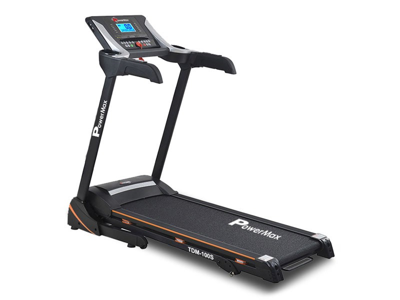 <b>TDM-100S-V2</b><sup>®</sup> Motorized Treadmill with Jumping Wheel & Auto Lubrication