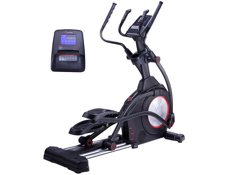 <b>EC-1600</b> Commercial Elliptical Trainer with Incline
