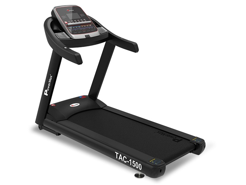<b>TAC-1500<sup>®</sup></b> Commercial AC Motorized Treadmill with Mobile App