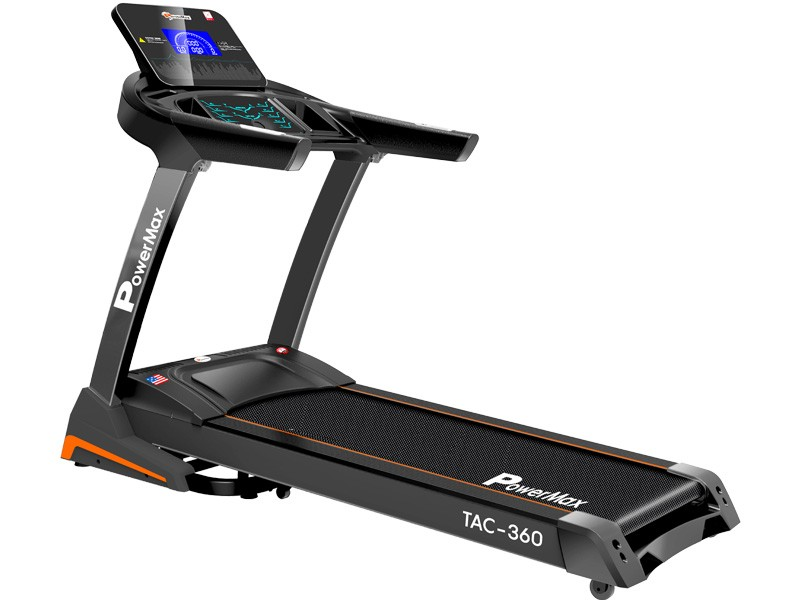 <b>TAC-360<sup>®</sup></b> AC Motorized Treadmill with Auto Lubrication & Auto Incline